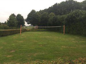 Huidig volleybalveld De Brei